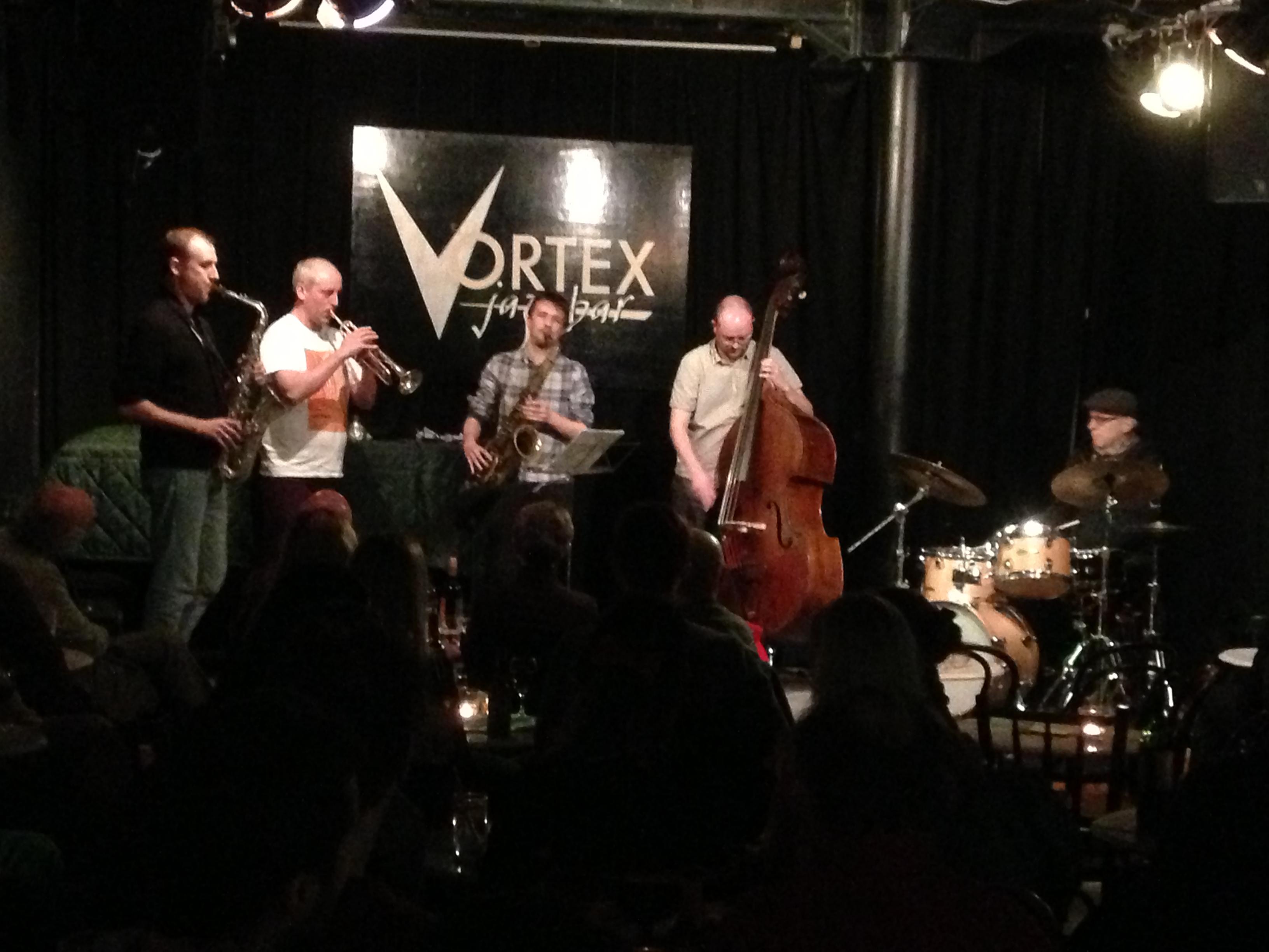 Olie Brice Quintet