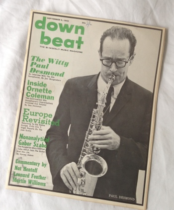 Paul Desmond Down Beat 2