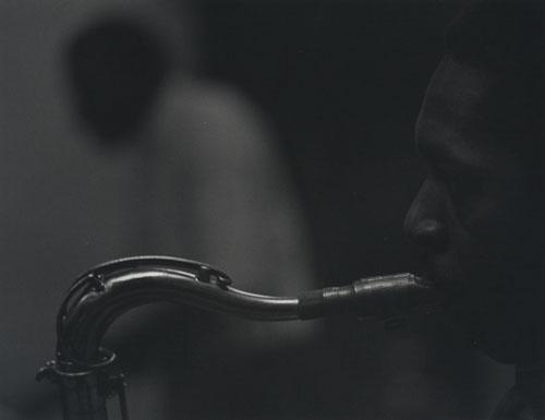 John Coltrane by Roy DeCarava