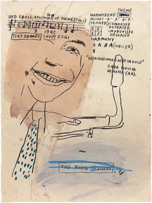 Basquiat Bird 3