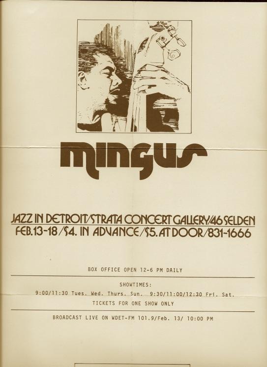 Mingus poster